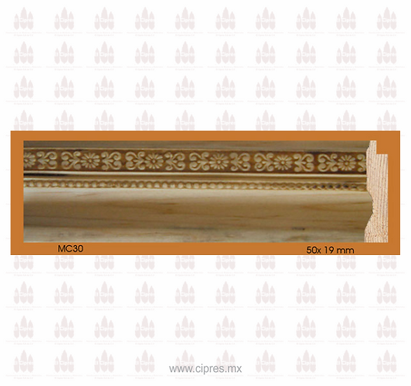 MOLDURA MC 50 X 19 MM