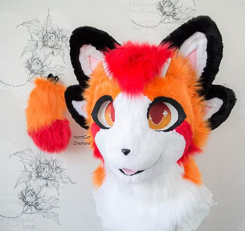 Kemono Fursuit Head + Tail