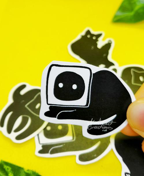Cat Void sticker pack- 6psc