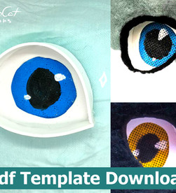 Free Fursuit eye template