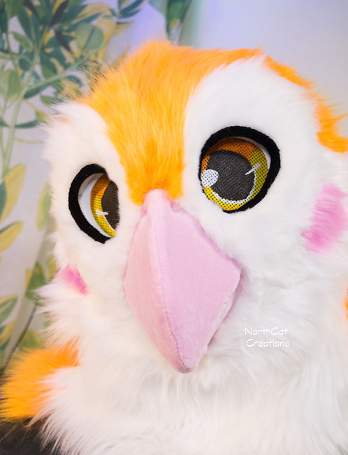 Bird Fursuit - Tangerine