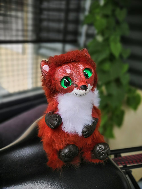 Red fox artdoll