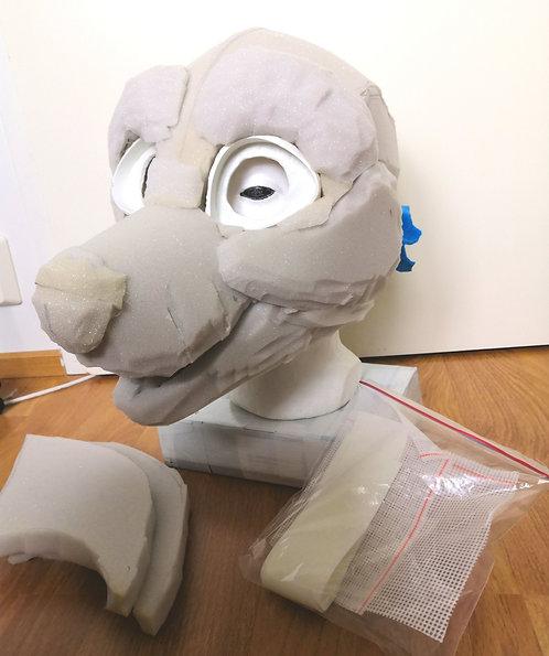 Dog fursuit base kit