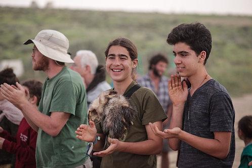 מקדמה למחנה ילדים: זאבים גילאי 14-18