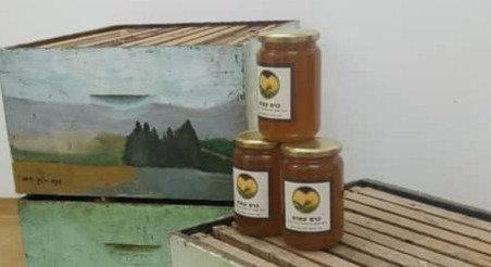 צנצנת דבש טבעי ואיכותי - תמר אודם