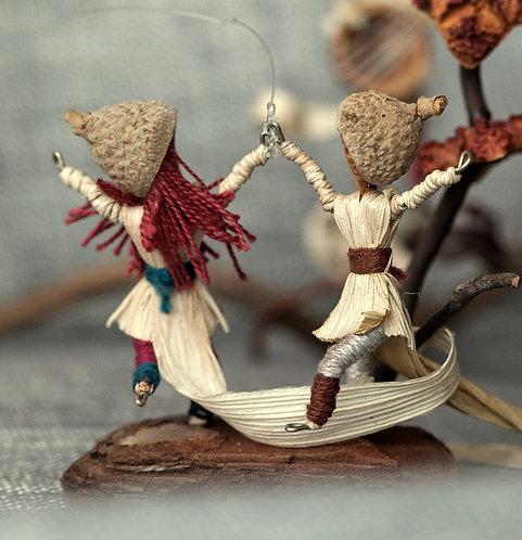 זוג ספלולונים רוקדים