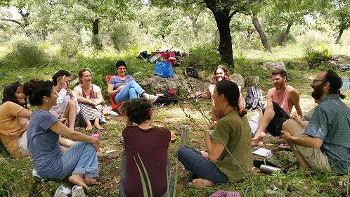 השתתפות בסדנת המבוא לסיפור סיפורים ביער - נעמה תל צור