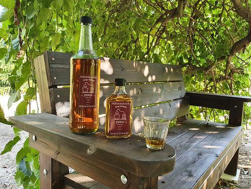 וויסקי, בזיקוק עצמי, מיושן בחביות עץ אלון עם ריחות עתיקים - איז'ו גורן-חיטין