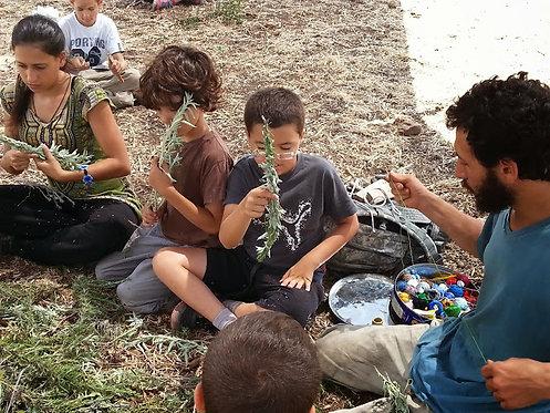 מקדמה למחנה ילדים: קיפודים גילאי 4-6