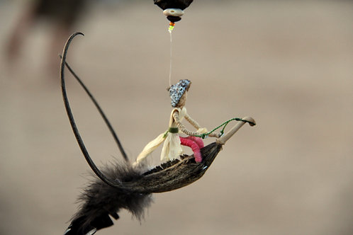 ספלולונ\ית רוכב על ציפור
