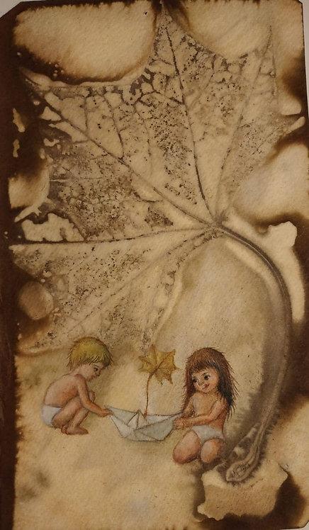 גלויות בהדפס אקו פרינט ואיור מקורי - חן רכטמן