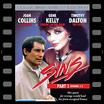 Sins DVD cover showing Timothy Dalton and Joan Collins