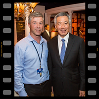 Graham McGrath and Lee Hsien Loong