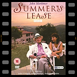 Susan Fleetwood with John Gielgud on the DVD cover of Summer's Lease
