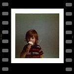 Graham with an ice cream
