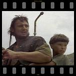 Liam Neeson and Graham McGrath in Krull