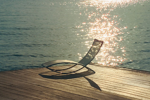 Fish chaise longue