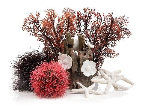 Set decorazioni Foresta Rossa 48442