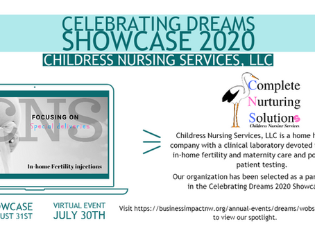 CNS has been selected for the Celebrating Dreams 2020 Showcase!