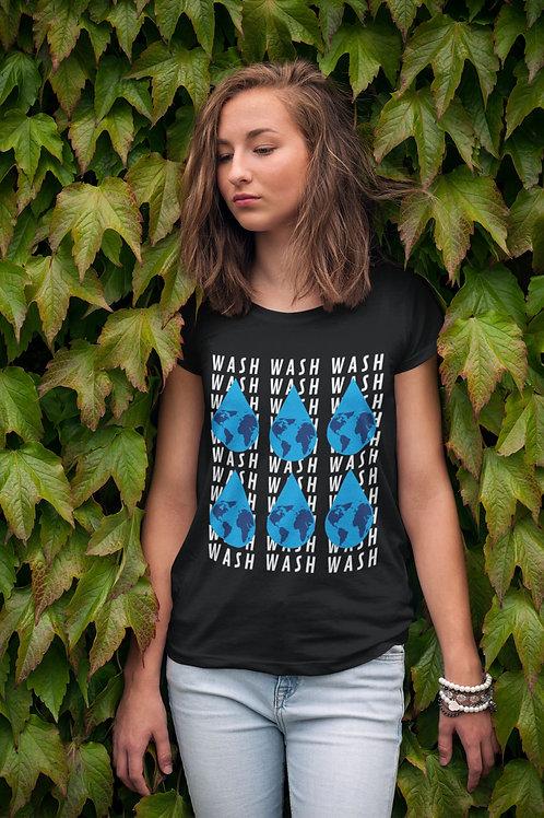 Wash Your Hands Nation 2- Short-Sleeve Unisex T-Shirt QuianaChildress.com