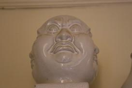 Tripple face buddah