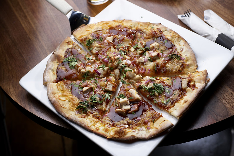The Den LV_BBQ Chicken Pizza_Photo Credi