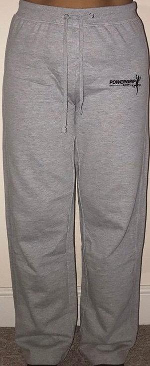 Grey Womans Fleece Trackies