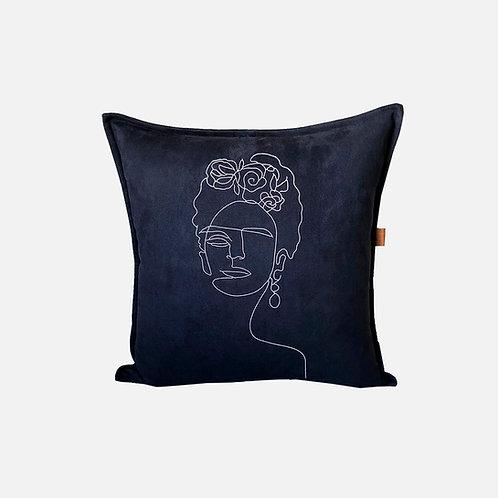 Brisa Frida - azul marinho