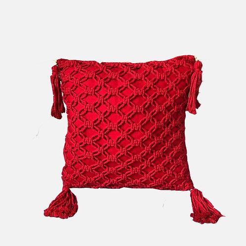 Brisa Macramê rede - vermelho