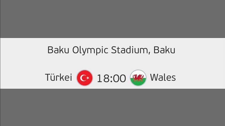 UEFA EURO 2020 LIVE Türkei-Wales