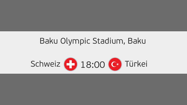 UEFA EURO 2020 LIVE Schweiz-Türkei