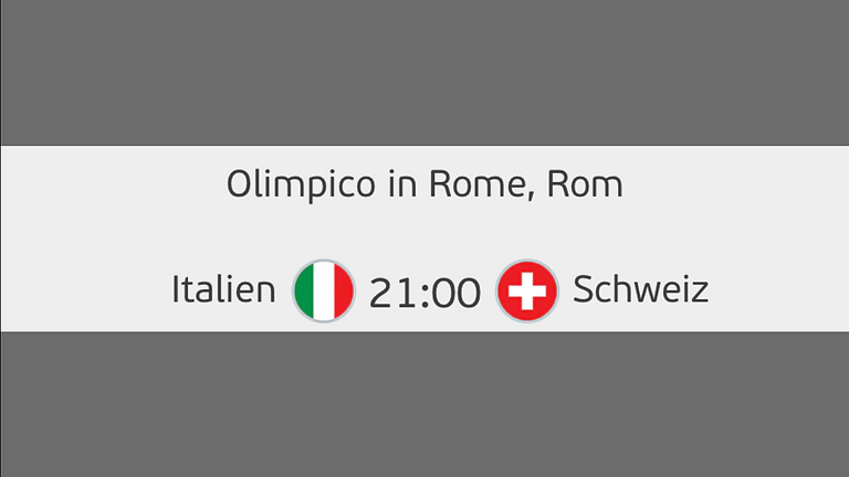 UEFA EURO 2020 LIVE Italien-Schweiz