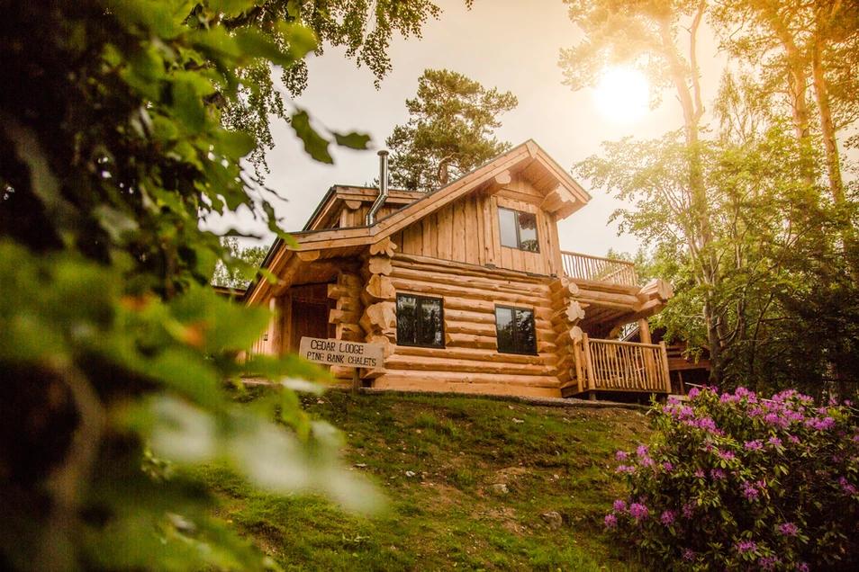 A log cabin made by British Log Cabins