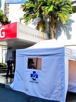 Tent at LG