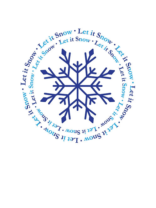 Let it Snow! — 10 Cards for $21