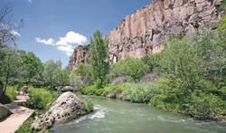 Ihlara Valley, Melendiz Stream