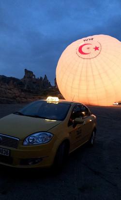 Balloon Take-off Site