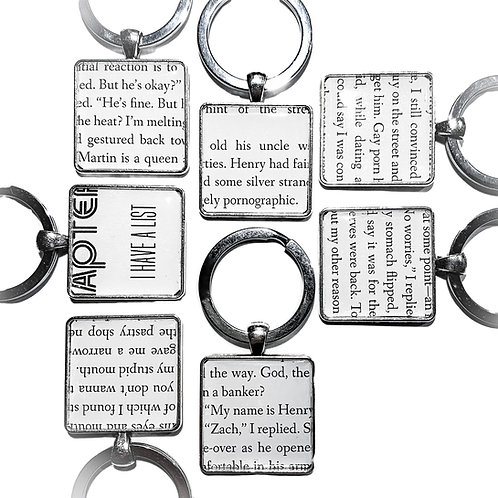 Key Ring: Out, Cutout from Book