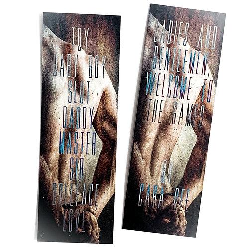 Bookmark: The Game Series 2pcs