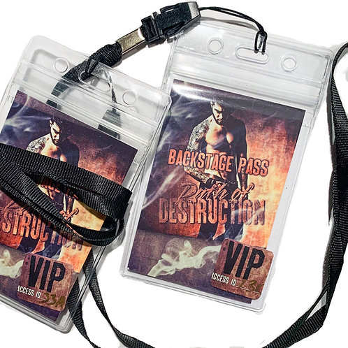 Backstage Pass Lanyard: Path of Destruction
