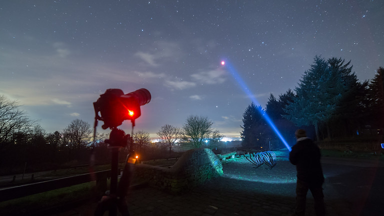 New Year stargazing at Bleasedale