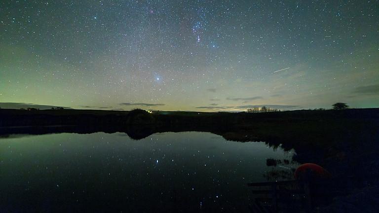 New Year stargazing at Eldroth Village Hall
