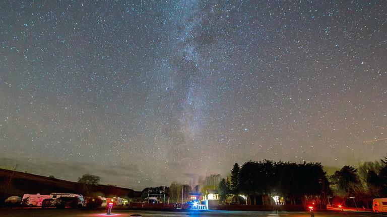 Bellingham day visitor Geminid stargazing
