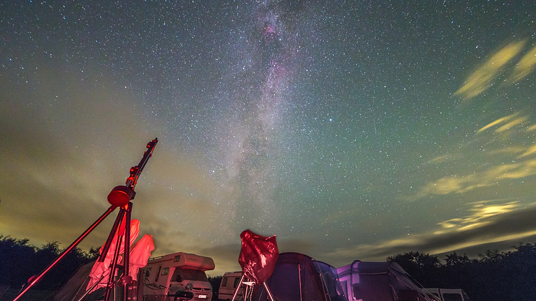 February stargazing at Bleasedale