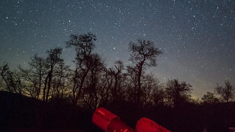 New Year stargazing at Bentham