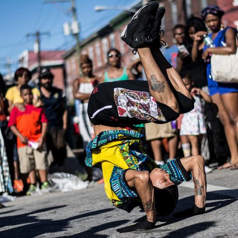 Break Dancer  Man