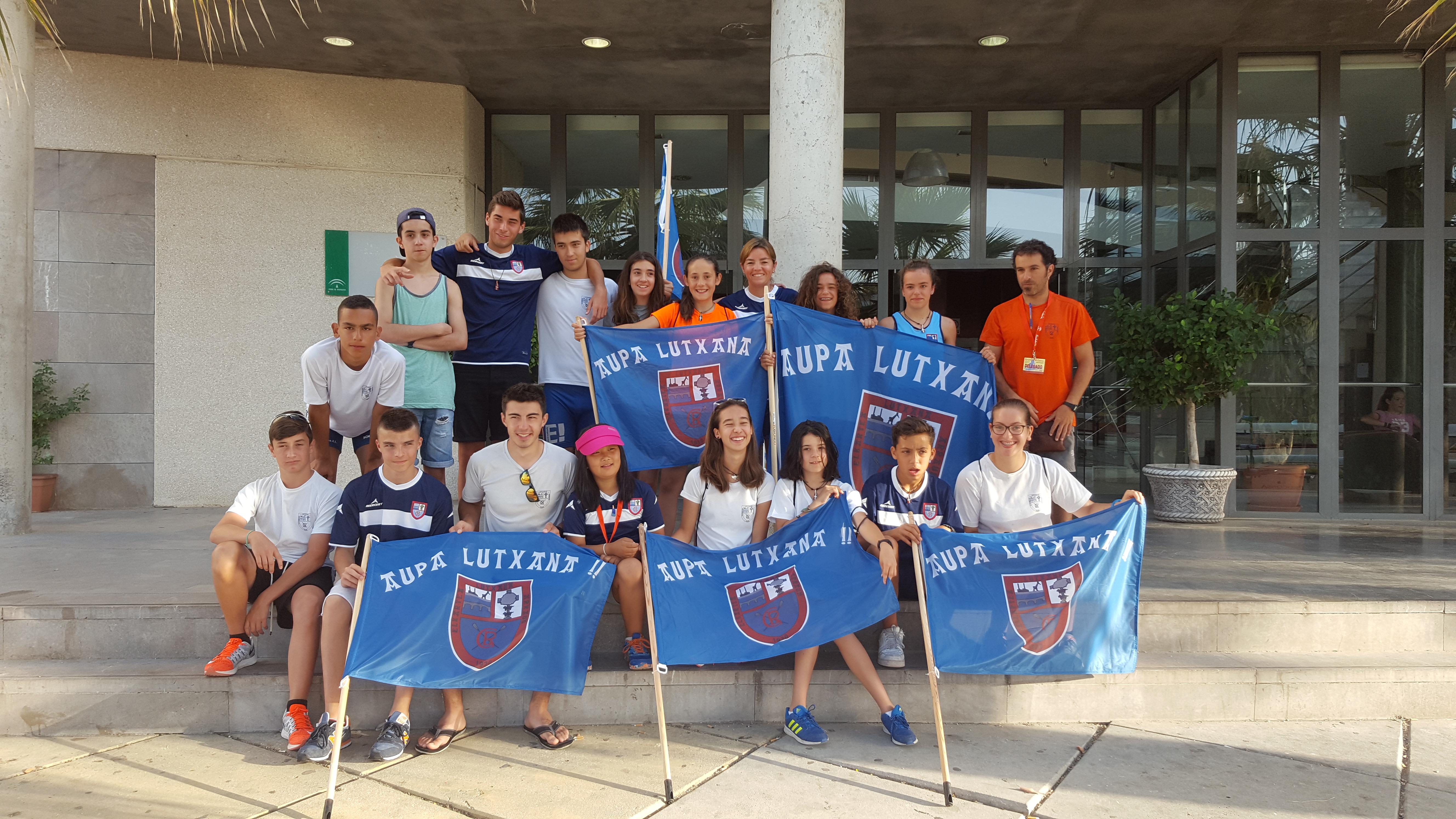 Lutxana AE Sevilla 2016