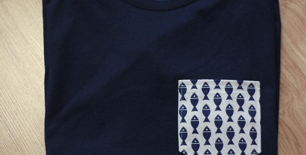 Camiseta Niñx Peixes SJ19