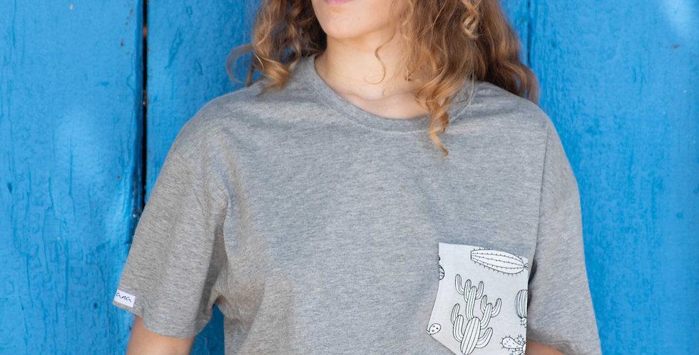 Camiseta Cactus Grises