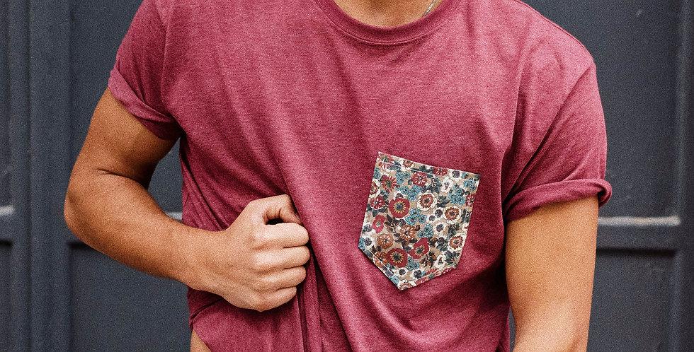 Camiseta Granate Otoño